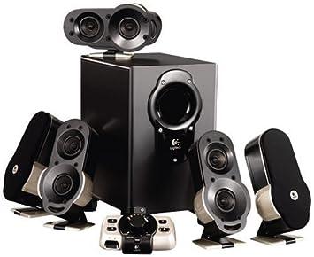 logitech g51 surround sound 51 speaker system black amazoncom logitech z906 surround sound speakers rms