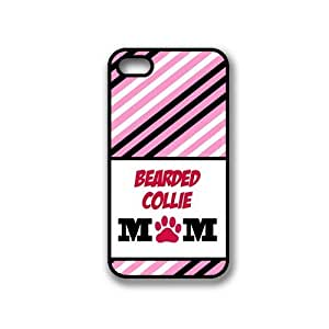 Bearded Collie Mom iPhone 4 Case - Fits iPhone 4 & iPhone 4S