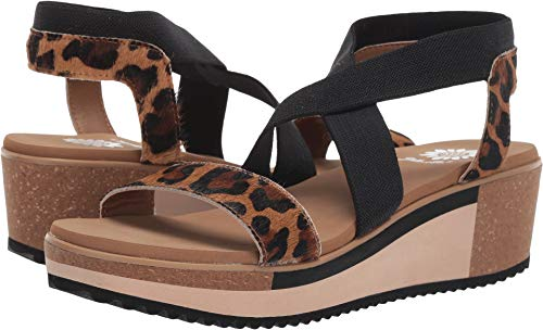 Yellow Leopard - Yellow Box Women's Janalee Leopard 8 M US