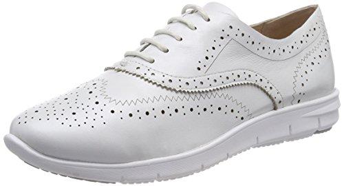 Silber Perlato Brogues 139 Femme Caprice Blanc 23501 White qytnvxgw76