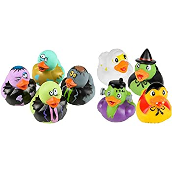 Amazon Com Two Dozen 24 Mini Glow In The Dark Halloween