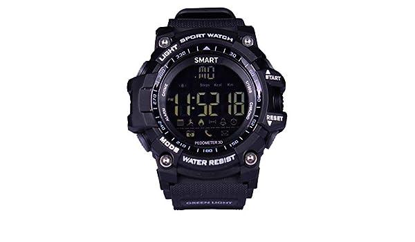 Brigmton BWATCH-G1 SmartWatch IP67, Negro: Amazon.es ...