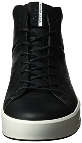 Baskets Soft Men's Ecco Hautes Noir Black 8 Noir Homme tH6qwZq