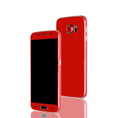 AppSkins Folien-Set Samsung Galaxy S6 Gloss red