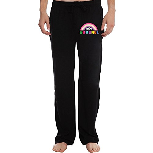 Mercy The Amazing World Of Gumball Men's Running Pants 3X Black