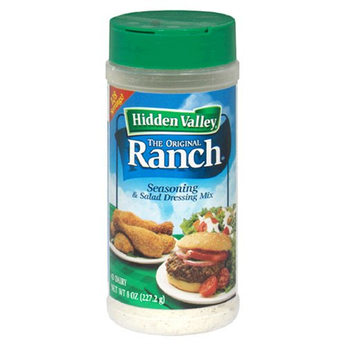 Hidden Valley Salad Dressing Mix Original Ranch Recipe, 8-Ounce Units (Pack of 3) by Hidden Valley