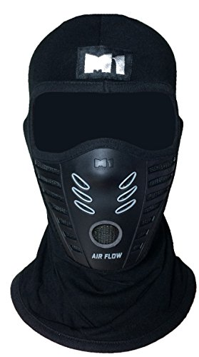 M1 Full Face Cover Balaclava Protection Filter Rubber Mask - Rubb Usa