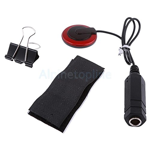 Guitar Mandolin Banjo Piezo Pickup Transducer With 1/4'' Jack 12inch Cable