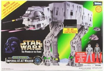 Star Wars At-at Walker Toy (Star Wars Imperial At-at Walker with At-at Commander & Driver Figures)