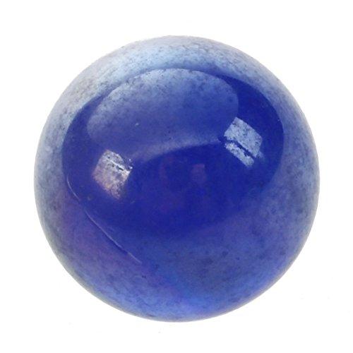 glass marbles - TOOGOO(R)10 Pcs Marbles 16mm glass marbles Knicker glass balls decoration toy Dark Blue