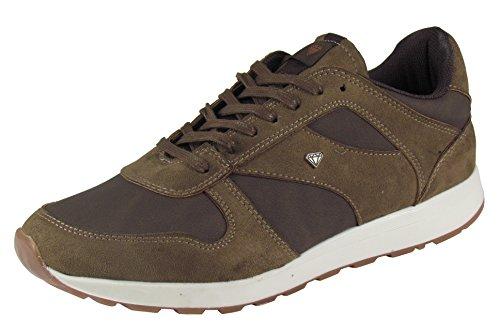 Herren Schuhe - Low Sneaker - Freizeitschuhe - in schwarz und braun Braun