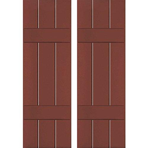 Ekena Millwork CWB12X049RWC Exterior Three Board