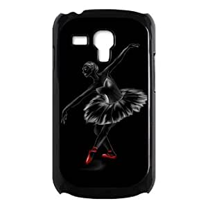 Dancing Ballet Girl Hard Shell Cover Case for Samsung Galaxy S3 SIII Mini i8190