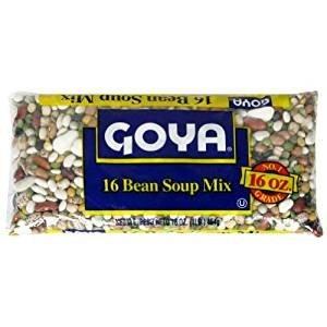 Goya 16 Bean Soup Mix 16 Oz. Pack Of 3. ()