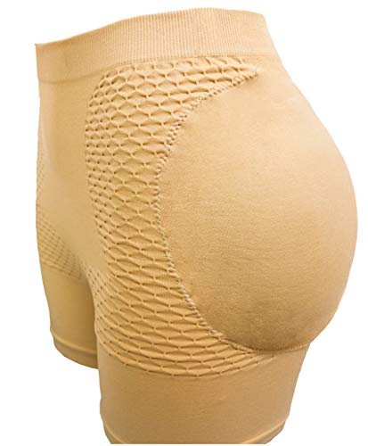 CeesyJuly Womens Fake Butts Gaff Panty Enhancement Underwear with Butt Pads