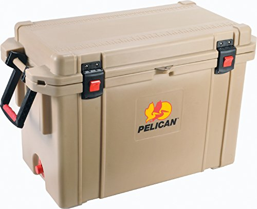 Pelican Elite Cooler 95 Quart - - Hinged Left Bottom Freezer