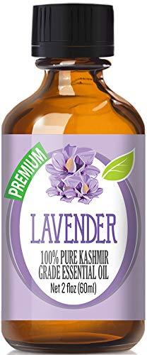 Kashmir Lavender Essential Oil - 100% Pure Therapeutic Grade Kashmir Lavender Oil - 60ml by Healing Solutions
