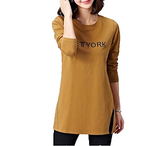 kdhjjoly-comfortable-womens-loose-casual-side-slit-crewneck-chic-top-t-shirt-aspicturechina-mus-s-ef