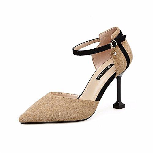 Tac Zapatos Sandalias de QXH Mujer de ca1p14R