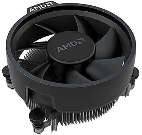 Amazon Com Amd Wraith Stealth Socket Am4 4 Pin Connector Cpu Cooler With Aluminum Heatsink 3 93 Inch Fan Slim Electronics