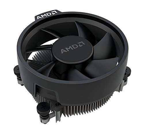 AMD Wraith Stealth Socket AM4 4-Pin Connector CPU Cooler wit