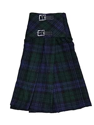 McWilliams Black Watch Tartan Ladies Buckle Womens Billie Kilt Mini Skirt