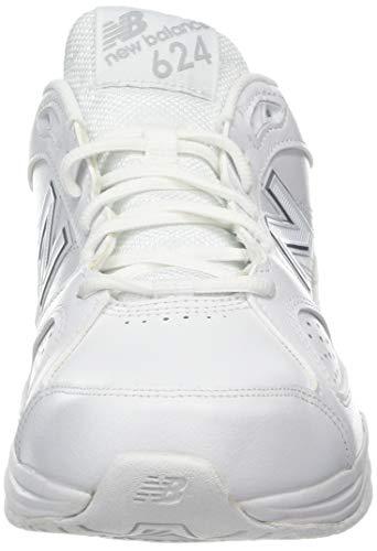 white Blanc Chaussures Balance whte Femme New Fitness 624 Ws4 De TZqxO7w