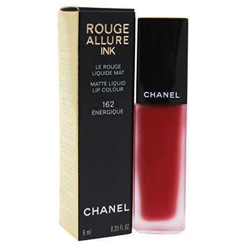 (Chanel Rouge Allure Ink Lipstick, 162 Energique, 0.12 Ounce)