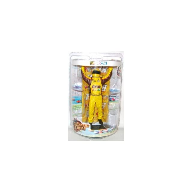 Kyle Busch #18 MMs M&Ms Yellow Brown With Helmet Uniform 2009 Daytona 500 Edition Winners Circle Six Inch Action Figure