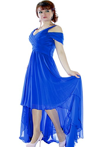 Farbe Blau Juju Damen amp; Christine Cocktail Abendkleid Größe xwSXqpOw