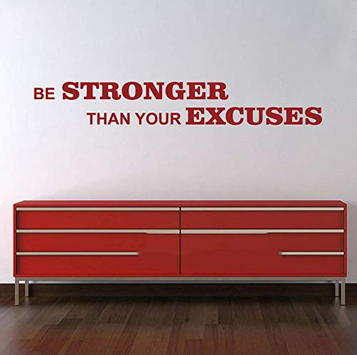 LSFHB Be Stronger Than Your Excuses Words Gym