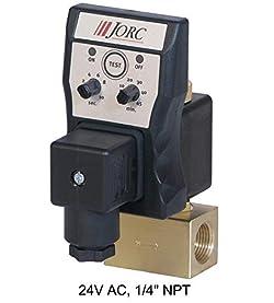 Jorc 2661 24V AC Optimum Timer Controlled Drain, 1/4inch NPT, 0-230 PSI