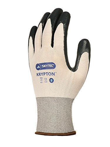 Skytec Gloves SKY23-S Krypton Glove, Size: S, White/Dark Green