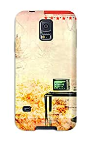 Cynthia Cooley Perfect Tpu Case For Galaxy S5/ Anti-scratch Protector Case (retro)