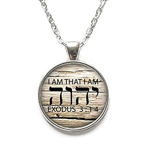 Ni36uo0qitian0ozaap Tetragrammaton Symbol Necklace,Jehovahs Symbol Pendant,Jehovahs Gift,Gift for Coworker,for him,Art Gifts,for Her,TAP335