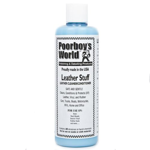 Poorboys Leather Stuff Clean & Conditioner Kit **FOR CAR & MOTORBIKE SEATS**: