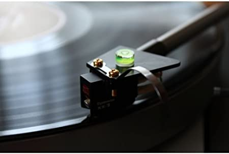 2pcs//Pack Sangmei Mini Precision Bubble Level Spirit Leveling Gauge for Phonograph Turntable Headshell Cartridge