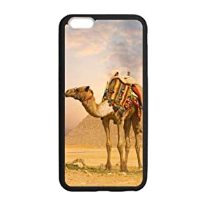 DaojieTM Generic Camel Team on the Desert Apple Iphone 6 Plus 5.5 Inch Hard Plastic Shell(laser Technology) Case, Cell Phone Cover wangjiang maoyi