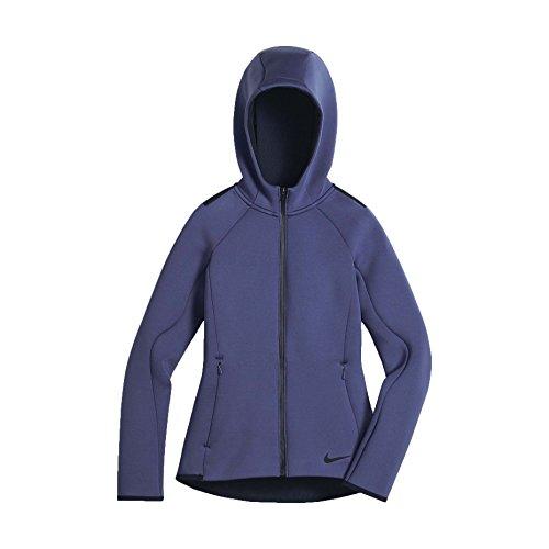 (Nike Big Girls' (7-16) Therma-Sphere Training Jacket-Dark Purple Dust-Medium)