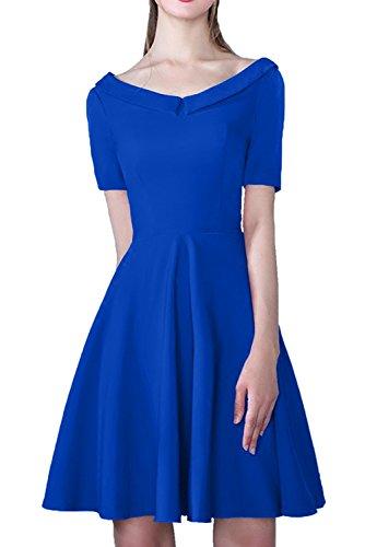 Ivydressing - Vestido - trapecio - para mujer azul oscuro
