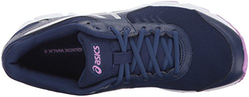 ASICS Womens Gel-Quickwalk 3 Walking Shoe Indigo Blue/Silver/Violet saGFIPQf