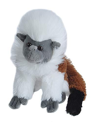 Wild Republic Cotton-Top Tamarin Plush, Stuffed Animal, Plush Toy, Gifts for Kids, Cuddlekins, 8 Inches
