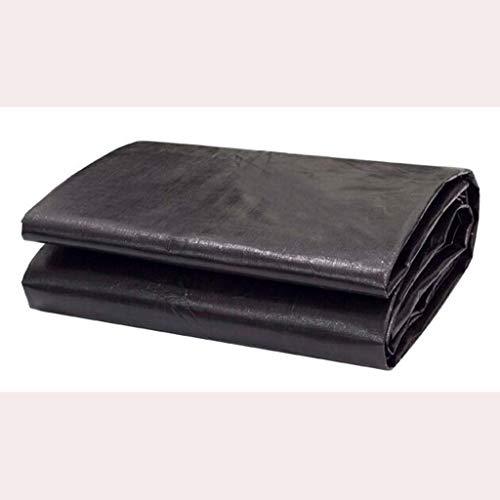 ZQZP Dicke Schwarze Streifen Tuch Regen Tuch Plane Schatten Tuch Kunststoff Tuch Plane Kunststoff Blaume Plane 180g   M2 (größe   5  6m)