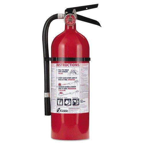 Kidde 21005779 Pro 210 Fire Extinguisher, ABC, 160CI, 4 lbs, 1 Pack - Kidde Fire Extinguisher