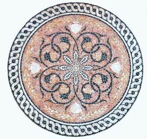Mosaik aus Stein ~ MERCURIA ~ 2 x 2 Meter - UNIKAT - handarbeit (sc18)