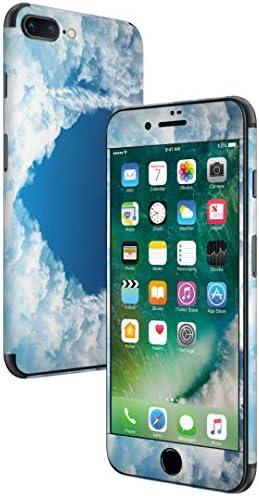 igsticker iPhone SE 2020 iPhone8 iPhone7 専用 スキンシール 全面スキンシール フル 背面 側面 正面 液晶 ステッカー 保護シール 010215 空 ハート 雲