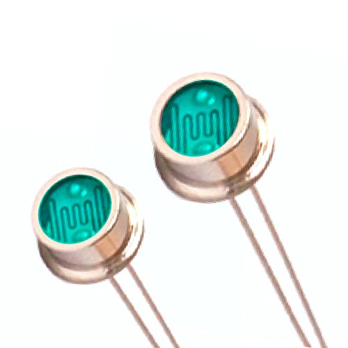 25pcs Hermetic Pacakge LXD657A-V Photoresistor,Waterproof of Light Dependent Resistor,Rejects Infrared Wavelength,High Temperature Resistance ()