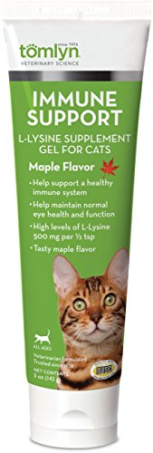 Tom Lyn 450522 Tomlyn L-Lysine Immune Support Gel For Cats, 5 Oz