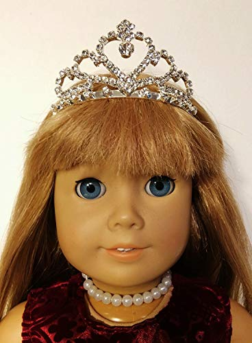 The Wishlist Store Tiara Crown For American Girl Doll and 18 Inch Dolls ~ Great for Elsa too !