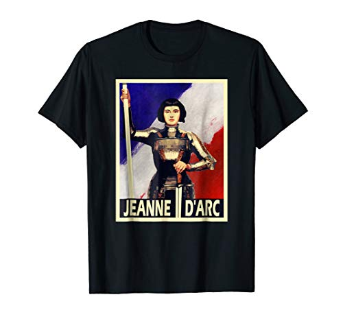 St Joan of Arc Poster Style Graphic T-Shirt